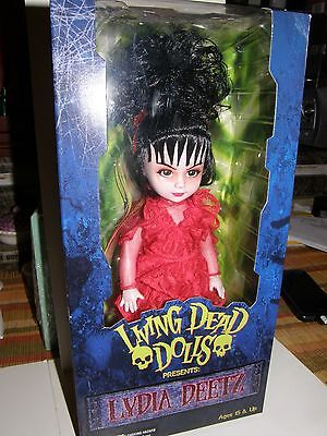 Living Dead Doll   Lydia Deetz      2011 Collector Doll