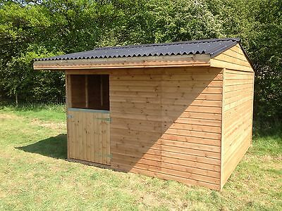 Mobile Field Shelter Stable 12x12 Free Delivery Within 50miles Limited Time Only