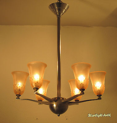 Beautiful French Art Deco Chandelier 1925/1930