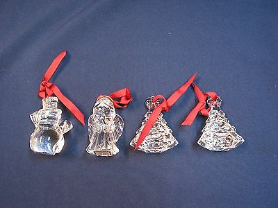 Waterford Glass Christmas Ornaments