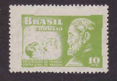 Brazil Stamp 1953 Mnh - Campaign Against Leprosy - Father Damiao