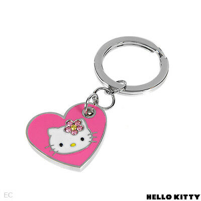 Sanrio Hello Kitty Diamonique Key Chain QVC, 2.5 Inch Length, $48 Retail