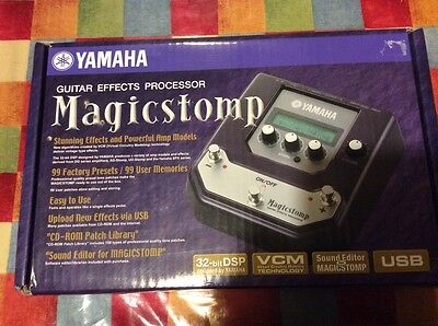 Yamaha Magicstomp UB99 Mark 2 with EFTP Echoes From the Past Marvin Shadows Hall