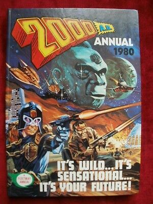 2000AD Annual 1980 AND 1981.