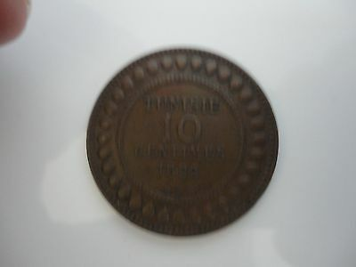 1892 Coin from TUNISIA.