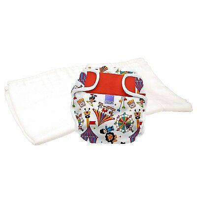 Bambino Mio Miosoft Reusable Nappy Trial Pack - Circus Time Size 1 ( 9kg)