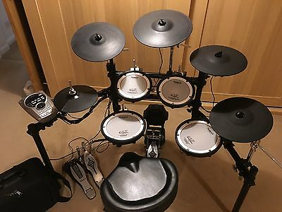Roland TD-15K Electronic Drum Kit with additional Cymbals & Accessories