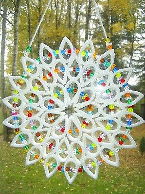 "HANDCRAFTED ""LARGE SUNCATCHER"" (free shipping)"