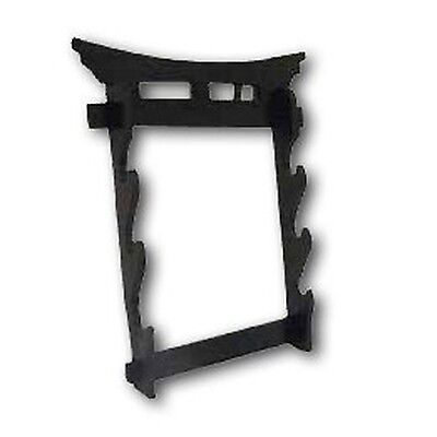 Martial Arts Weapons Stand - Tori Gate Sword Stand 3 Tier Wall Mounted