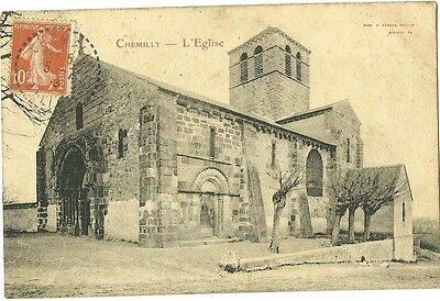 CPA 03 CHEMILLY Allier - L'EGLISE