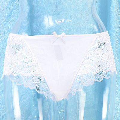 Lingerie Shorty Flottant Dentelle Tulle 42 44 Blanche Transparent Lise Zaza2Cats