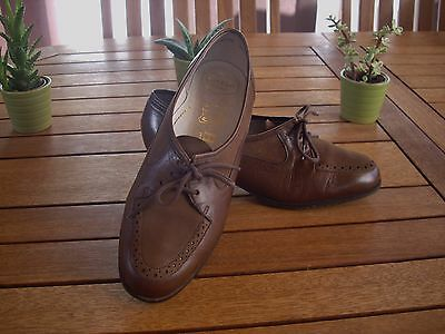 """confortable ces chaussures cuir """" HASLEY   """"  pointure 37,5"""