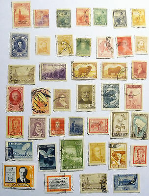 Argentina Early / Old Stamps inc. official &  airmail lot734