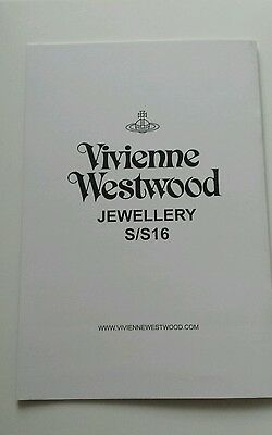 Vivienne Westwood Look Book Jewellery Ss16 Collectable