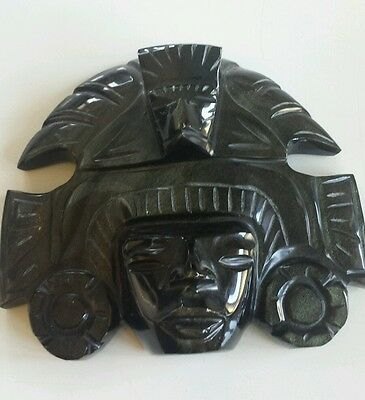 Mayan Art Mexican Carving Stone