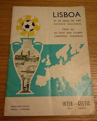 Inter Milan v Celtic 1967 European Cup  final