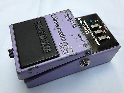 Boss Dc-2 Dimension C Chorus Effects Pedal