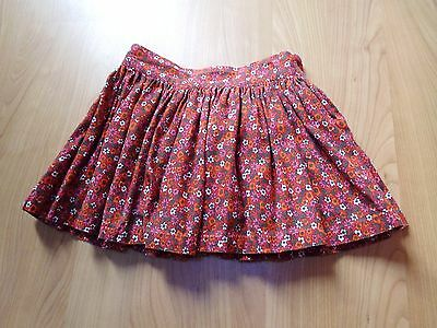 BODEN mini Johnnie B - Red Floral Girls Skirt - Size XS - Excellent cond.