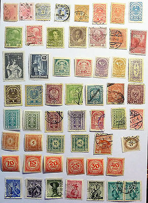 Austria Old Early Stamps Mercury Numerals lot752