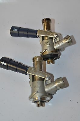 Keg Coupler -  Beer Tap System Micro Matic Set of 2