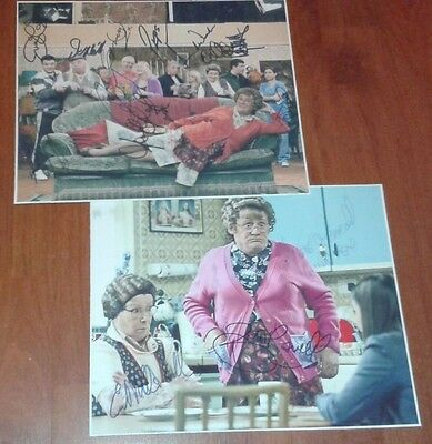 Mrs Browns Boys Large Signed Pictures. Set Of 2. Bbc Comedy. High Quality.