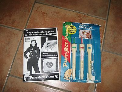 Purr-Fect Punch Embroidary Needle Set