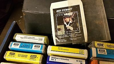 Joblot  8 Track Tapes X19 Vintage VARIOUS ARTISTS
