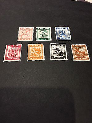 Unmounted Mint Stamps Of Lundy