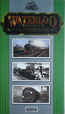 Waterloo & Waterloo to Bournemouth in the 60s - VHS Railway Video