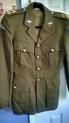 Wwii British Airborne Officers Dress Tunic