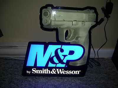 Smith & Wesson M&P Light Up Wall Sign