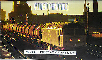 Video Profile 4 - Freight Traffic in the 1980s - Railway VHS Video