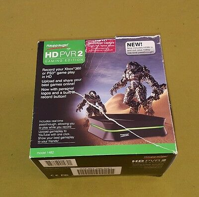 hauppauge hd pvr 2 gaming edition game capture model 1482