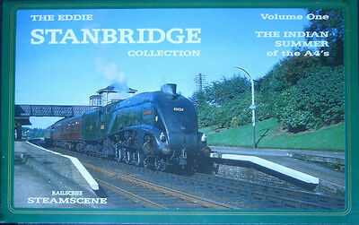 Indian Summer of the A4s - Eddie Stanbridge - Archive Railway VHS Video