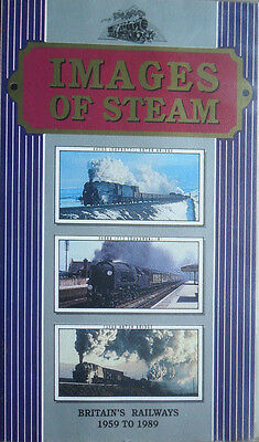 Images of Steam - 1959 to 1989 - Archive Railway VHS Video