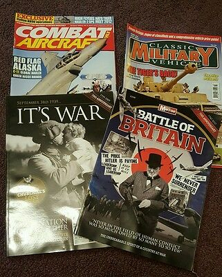 Battle of Britain magazines plus aircraft magazines