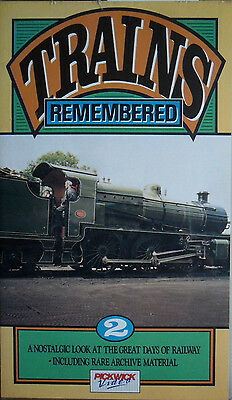 Trains Remembered Volume 2 - VHS Railway Video