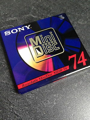 New Sealed Sony Mdw-74A Recordable Mini Disc 74 Min Md