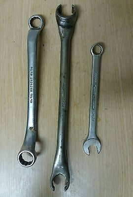 2 x Britool Spanners 1 x Britool Flare Spanner Imperial