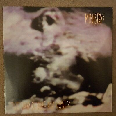 MINISTRY 'LAND OF RAPE AND HONEY' NEW AND UNPLAYED 180g REISSUE VINYL LP!