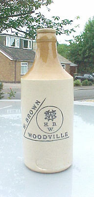 Stoneware Ginger Beer From W. Brown, Woodville
