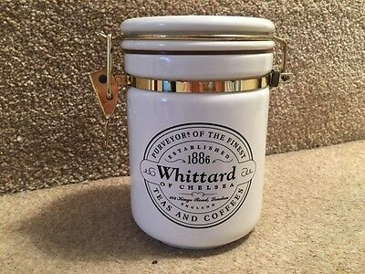 Whittard of Chelsea White Storage Jar
