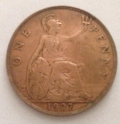 UK / Great Britain One Penny 1927