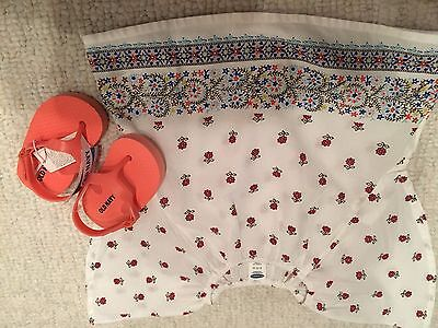Lot of 2 NWT infant girl items (6-12)