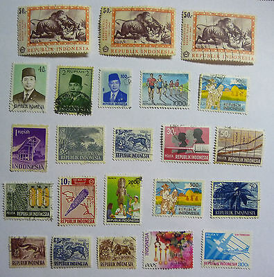 Indonesia Old Stamps lot616