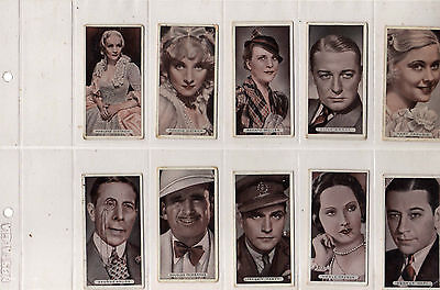 Ardath Famous Film Stars lot of 14