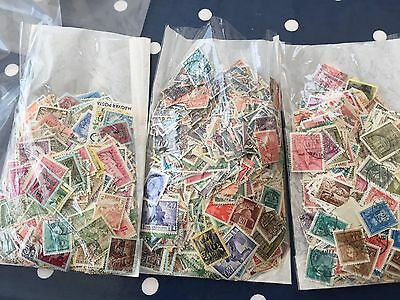 Hungary 3 very full bags, much with older stamps, many 1000's  wow lot