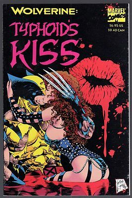 US Comics, Wolverine- Typhoid´s Kiss