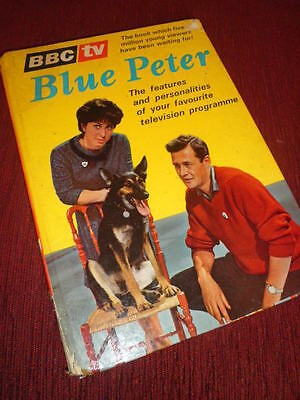 Blue Peter Annual 1 1964 Rare Good order for Year 1960's Retro Kitsch TV NR