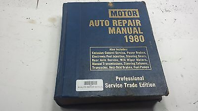 Motor's Auto Repair Manual - Vintage 1980 Ford Chevy Chrysler